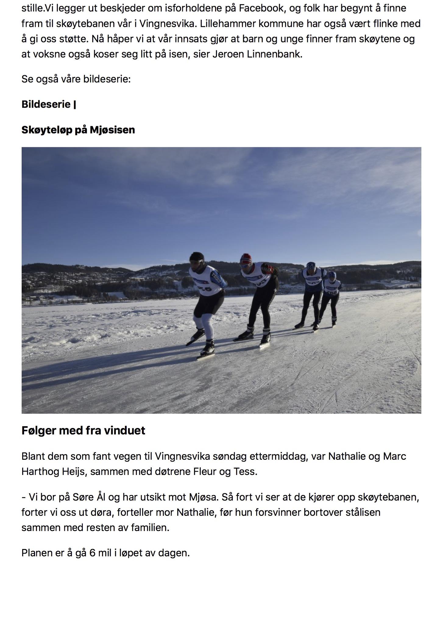 Gudbrandsdølen Dagningen - - For oss nederlendere er det umulig å la være01
